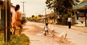 Jl Bakung Sari kuta 1979