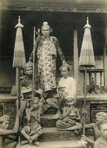 Raja Gianyar 1903
