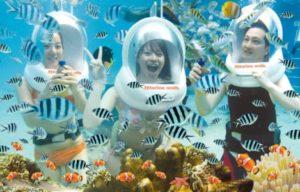 seawalker Bali tempat wisata para artis ibu kota